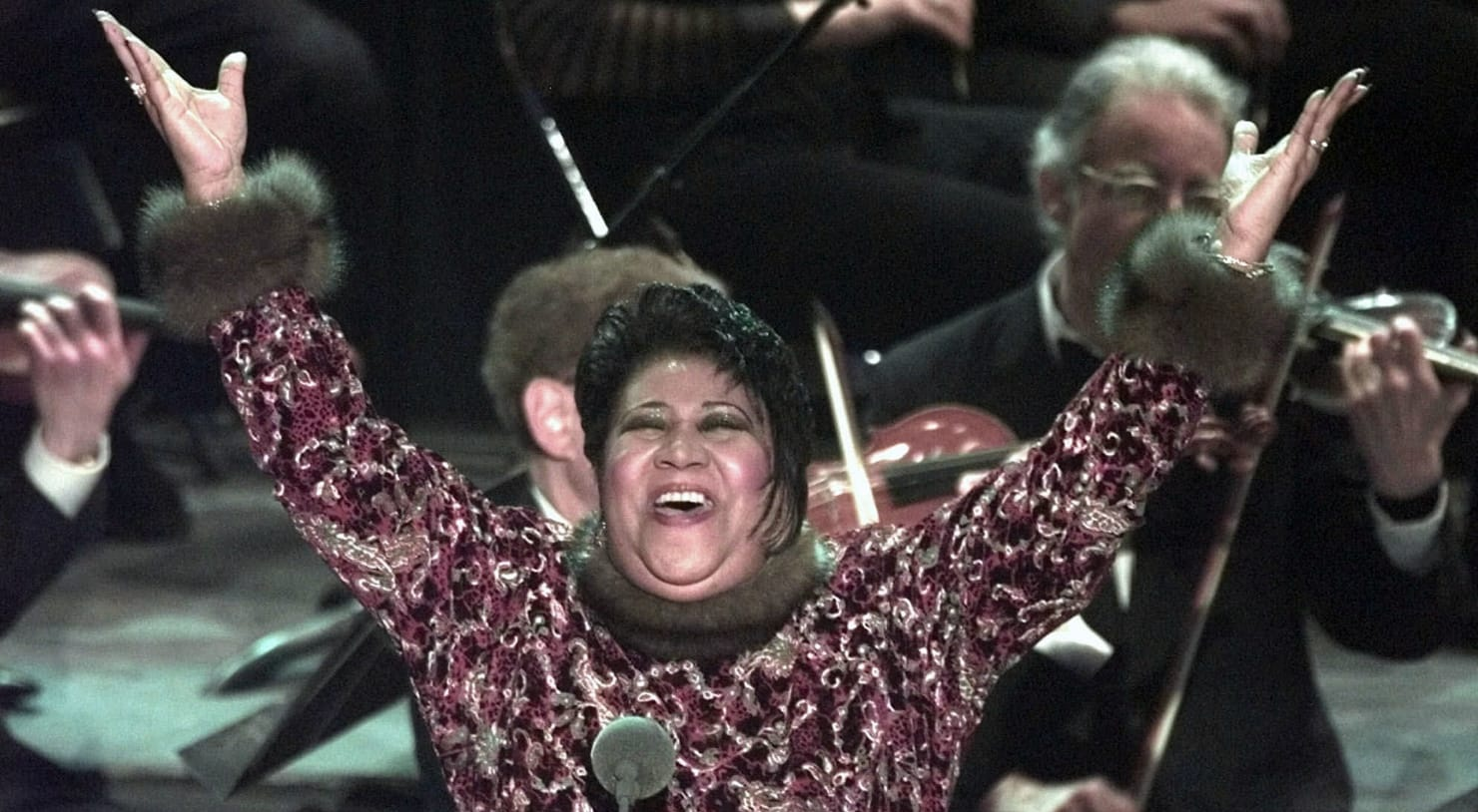 Throwback to when Aretha Franklin filled-in for an ailing Pavarotti and stunned everyone