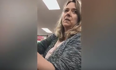 SHOCKING: Video shows woman uttering racist remarks to a Muslim. Says, 'Wish they didn't let you in'