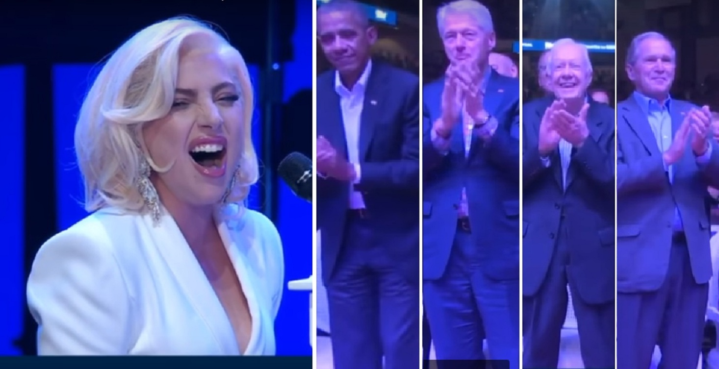WATCH: Lady Gaga receives standing ovation from 5 former US presidents after stunning performance