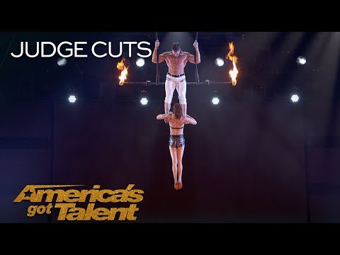 Watch: Couple's Scary Trapeze act on America's Got Talent ends with Shock And Screams