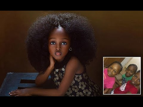 "Being called ""World's Most Beautiful girl"", this 5 YO's pictures are going viral"