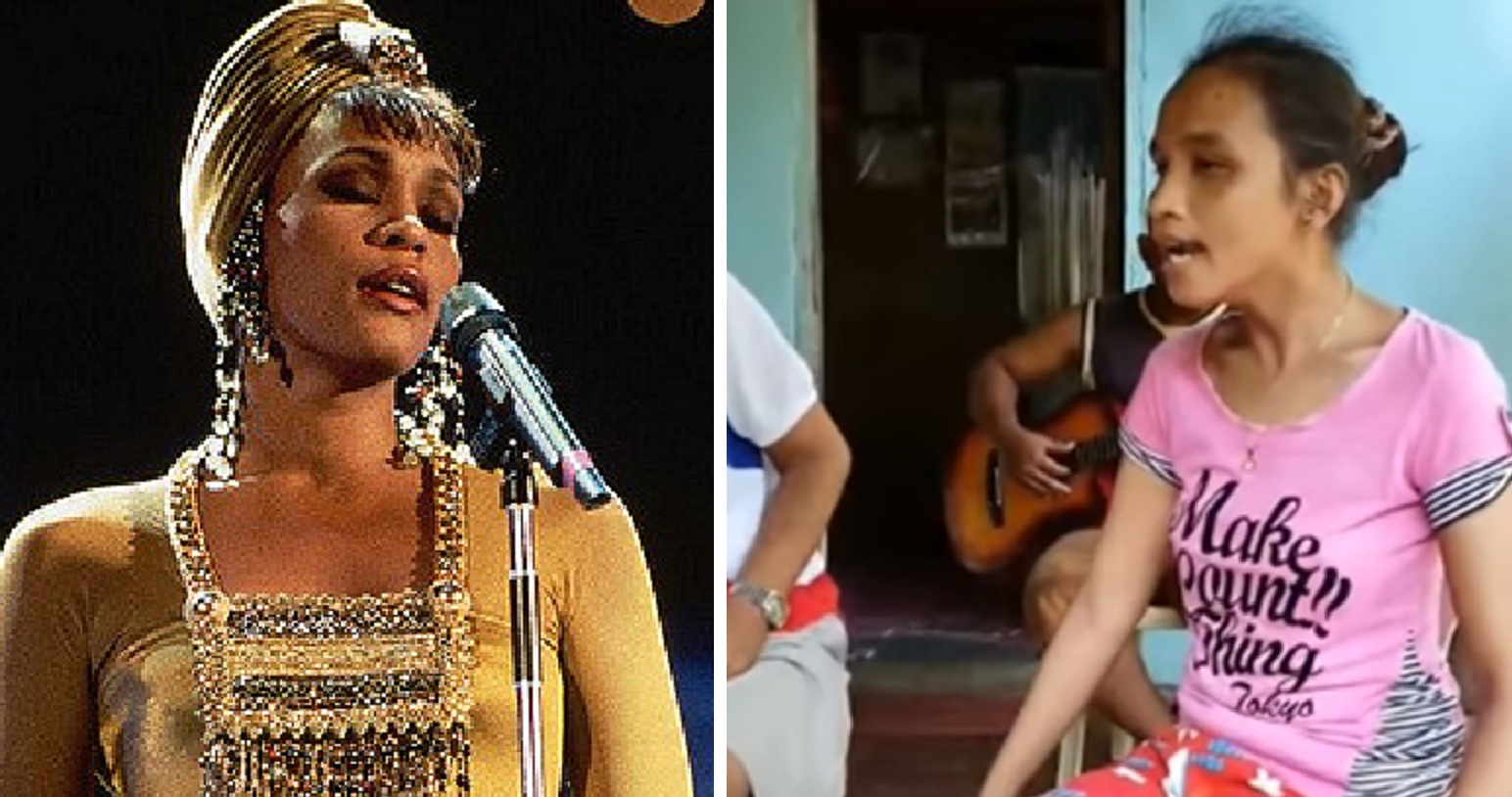 Watch: Blind girl stuns with her AMAZING cover of Whitney Houston's 'I Will Always Love You'