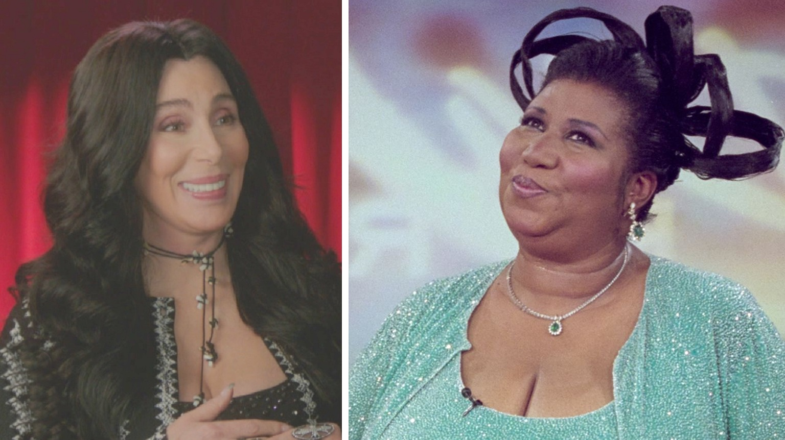 Cher recalls How Her 'Wig Flew-Off' On-Stage When Aretha Came to See Her Show!