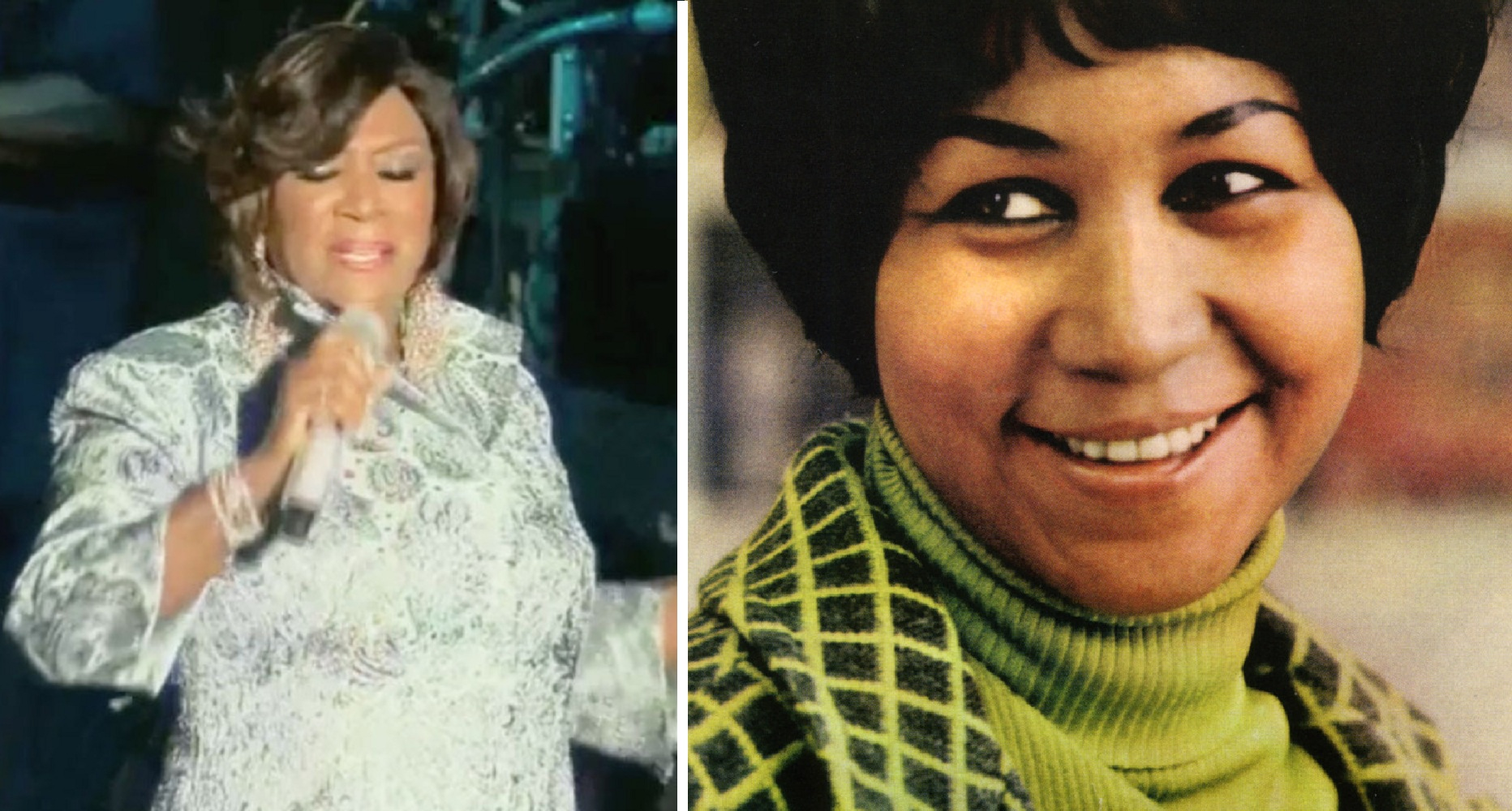 Watch: Patti LaBelle performs 'You Are My Friend' for Aretha Franklin