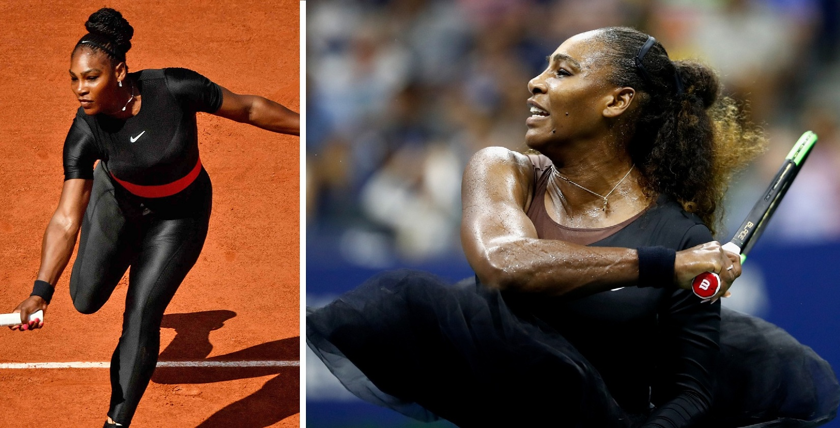 Serena Williams responds to backlash over her Catsuit by wearing a Tutu during match!