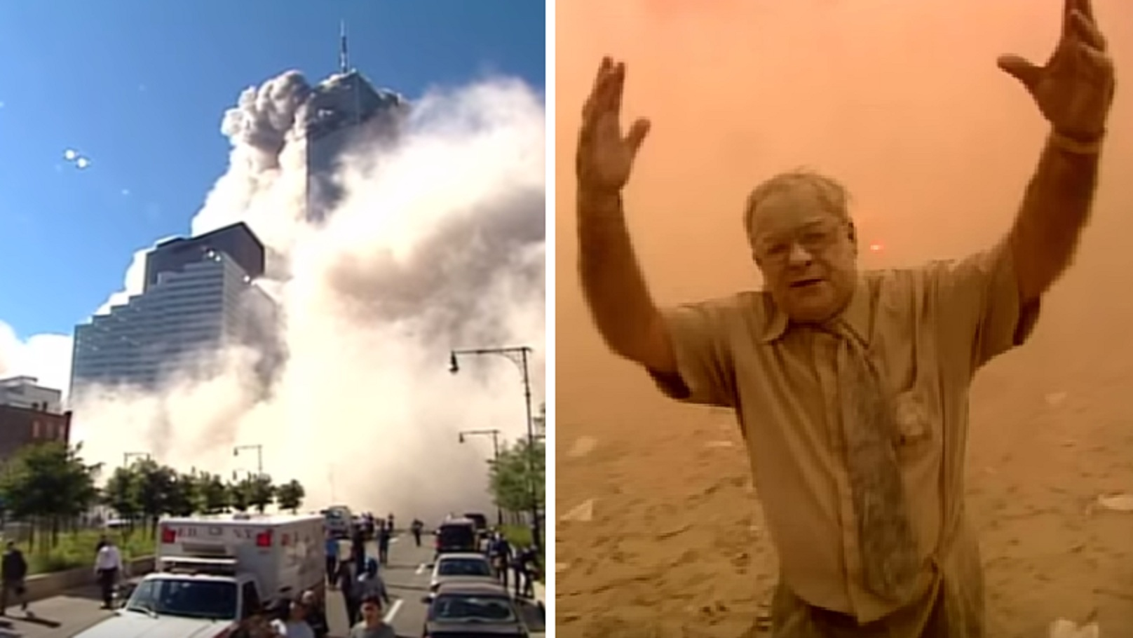 Watch: Rare Footage Shows the Horrifying Aftermath of 9/11 Attack