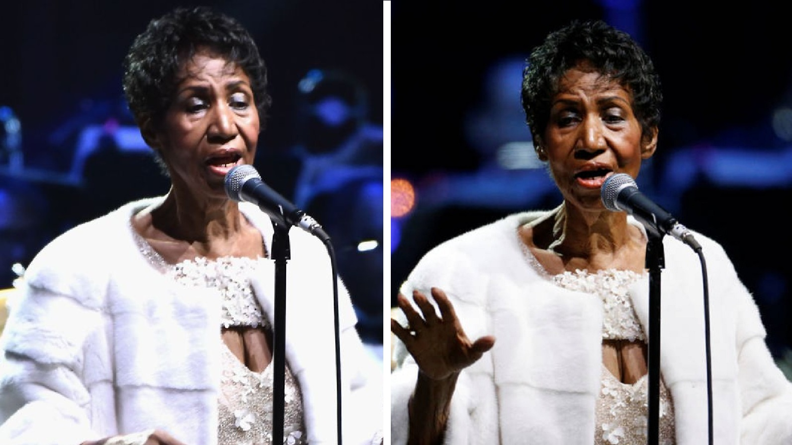Watch: Aretha Franklin's FINAL Public Performance!