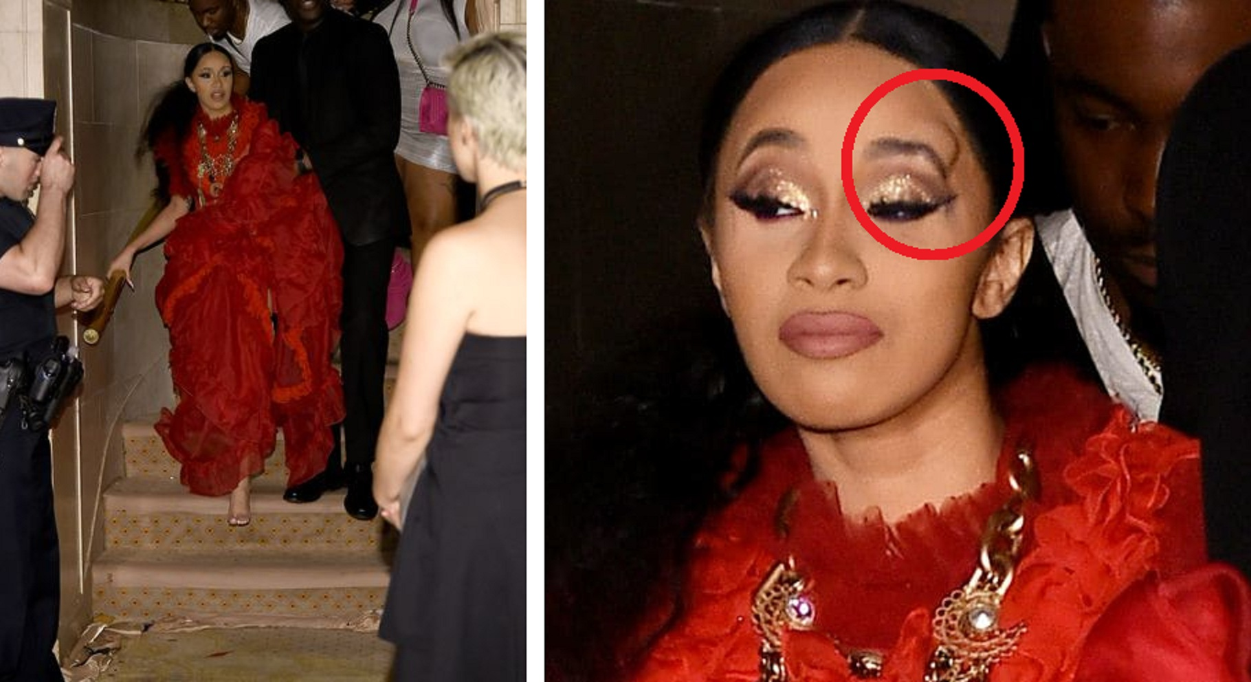Cardi B threw her shoe at Nicki Minaj as the two get into MAJOR fight at Plaza Hotel.