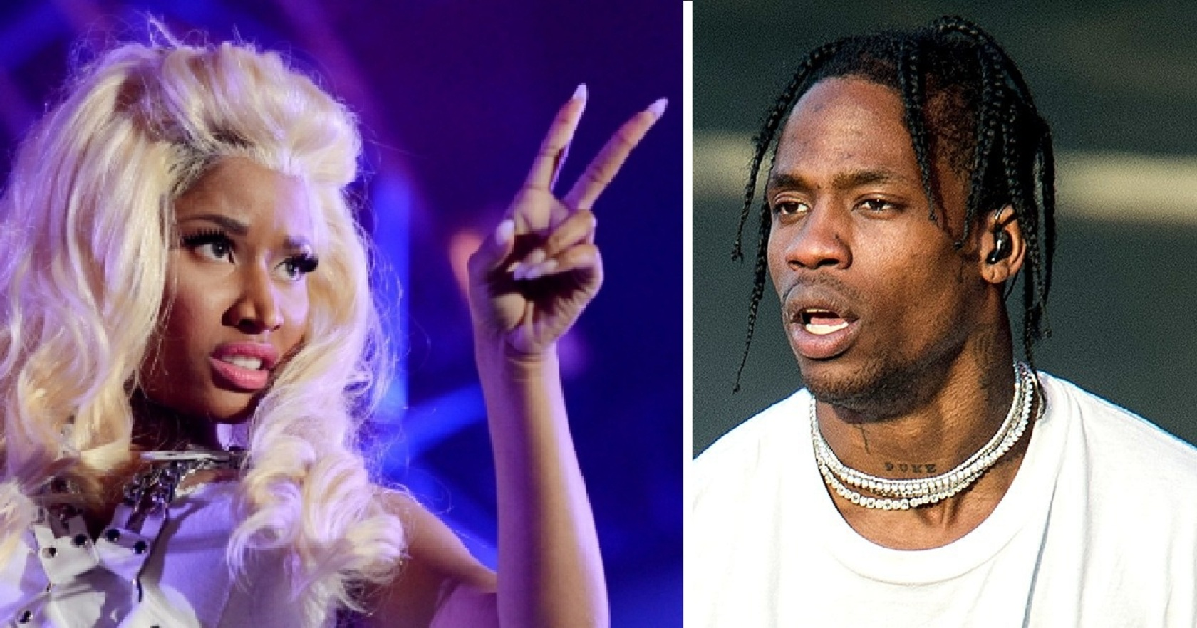 "Nicki Minaj wanted to ""Punch Travis Scott in his f*cking face"" for having a #1 over her!"