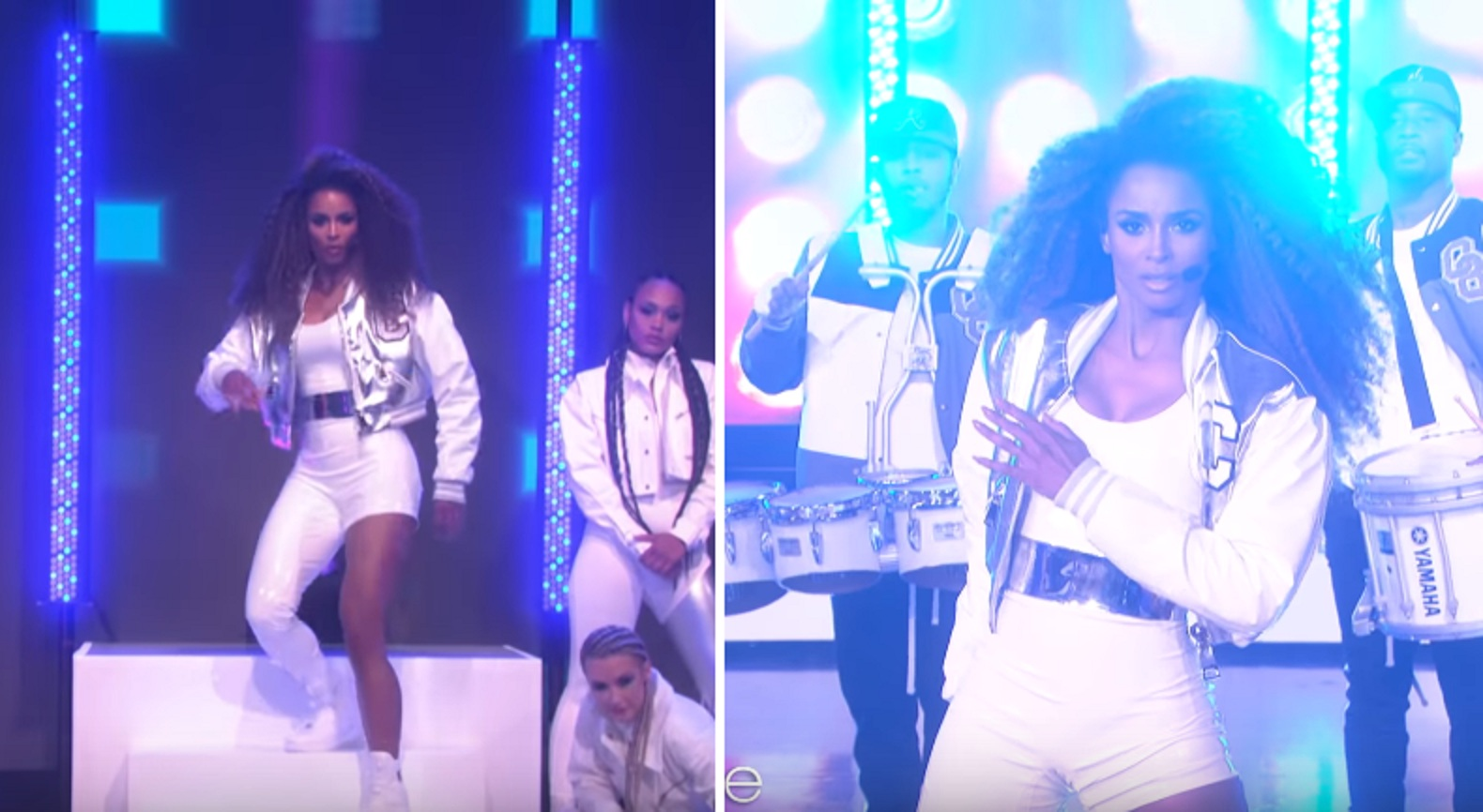 Watch: Ciara Takes Over Ellen Show with 'Level Up/Dose' Medley Performance!