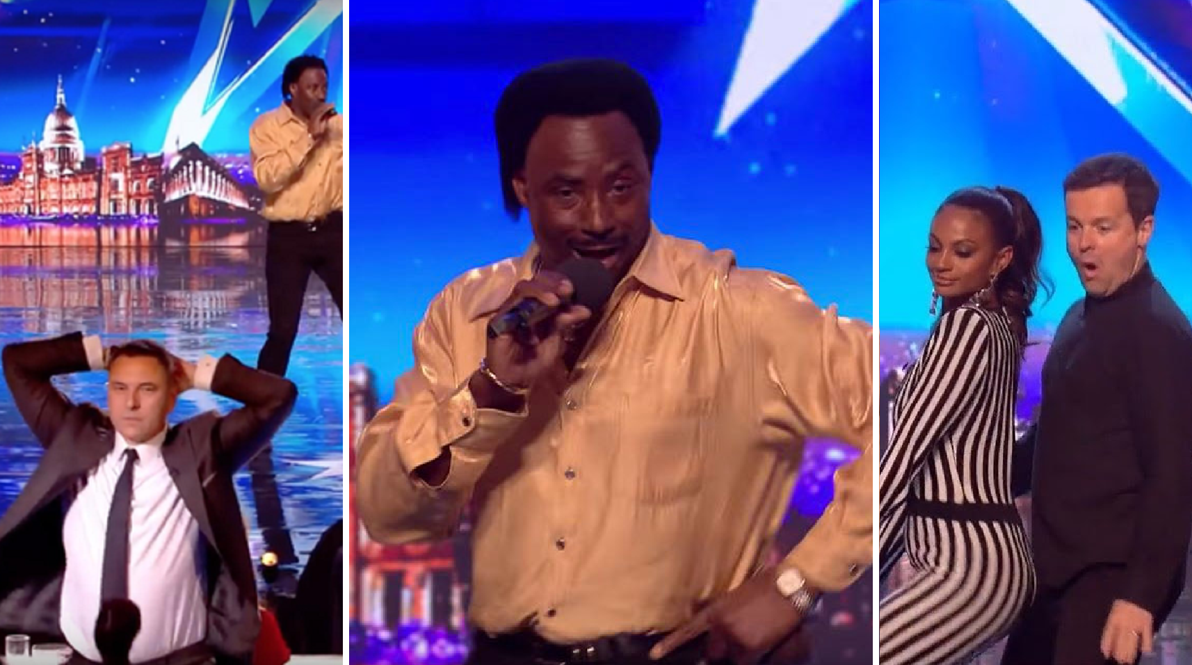 This Man's Incredible Audition-Performance Had The Entire Audience Dancing, Getting Him a 'Golden Buzzer'