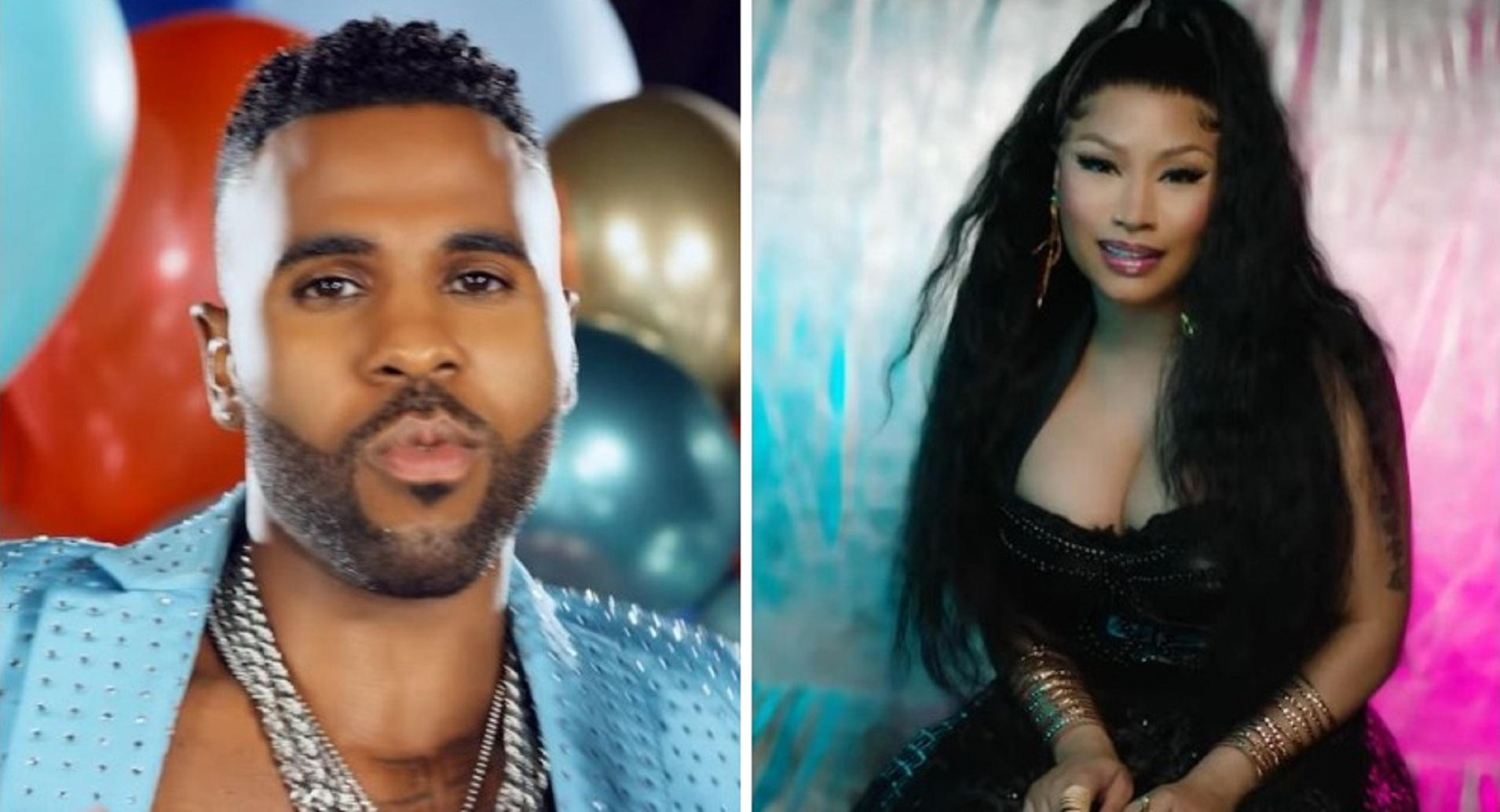 "New Video: Jason Derulo and Nicki Minaj Sample ""Time To Say Goodbye"", in David Guetta Remix!"