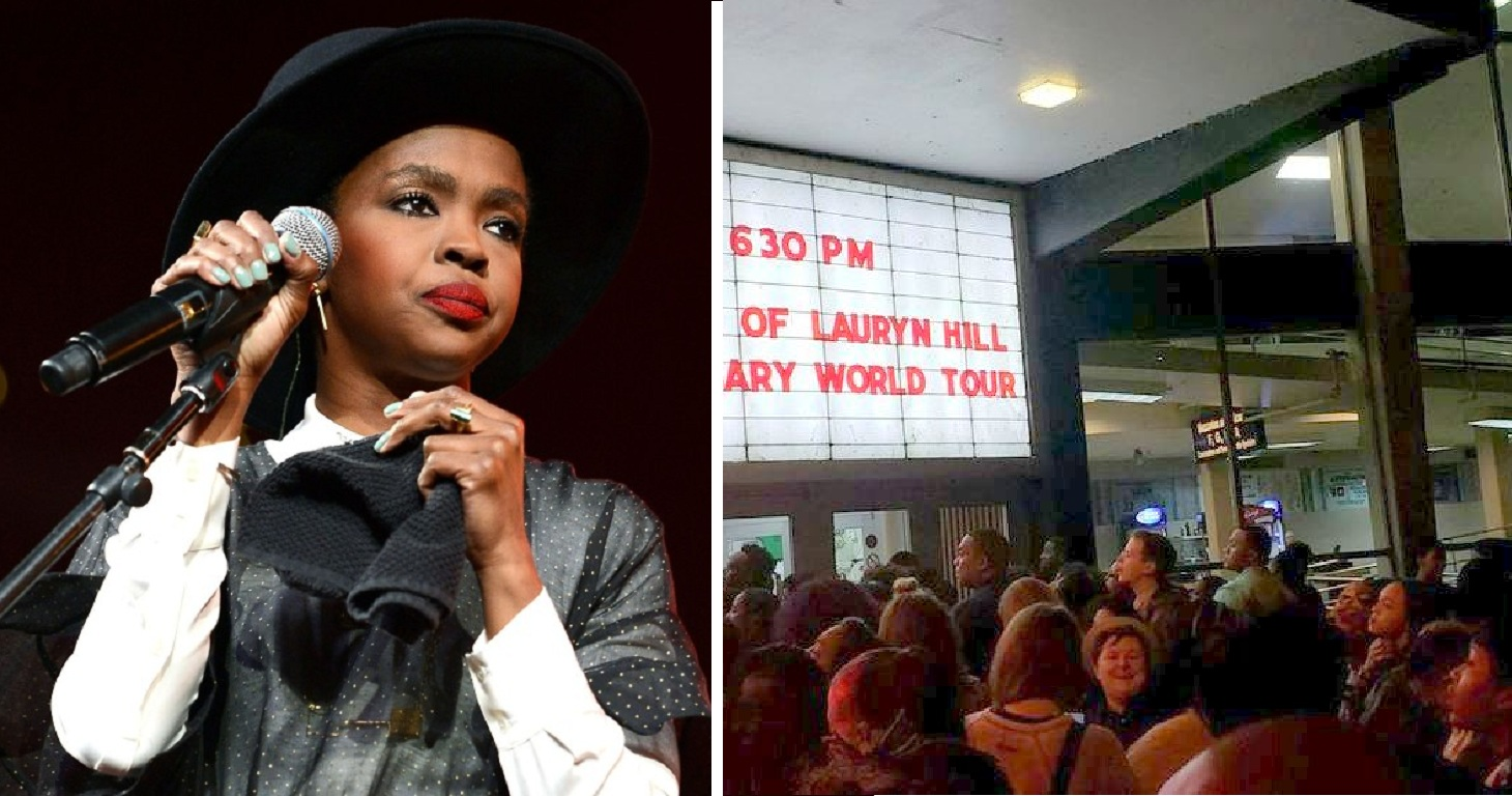 Lauryn Hill Calls Off Concert While Fans Wait Outside the Venue in Queues