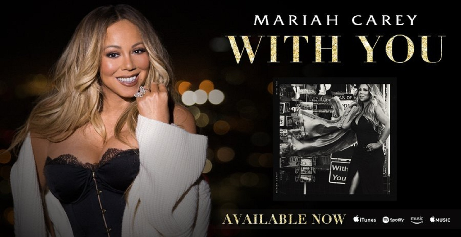 Listen to Mariah Carey's New Song: 'With You'
