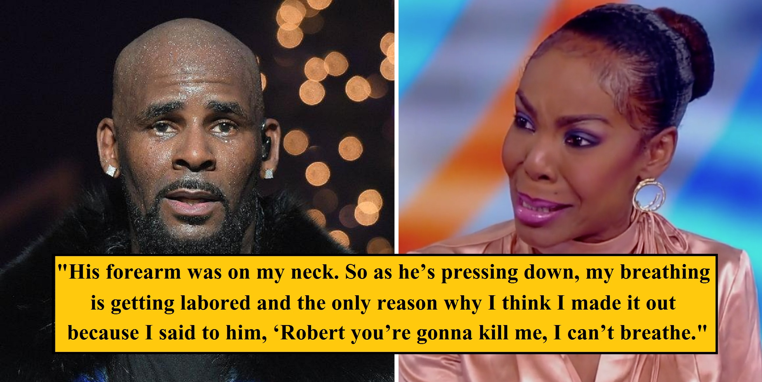 R. Kelly's Ex-Wife Opens Up About Abuse and Attempting Suicide