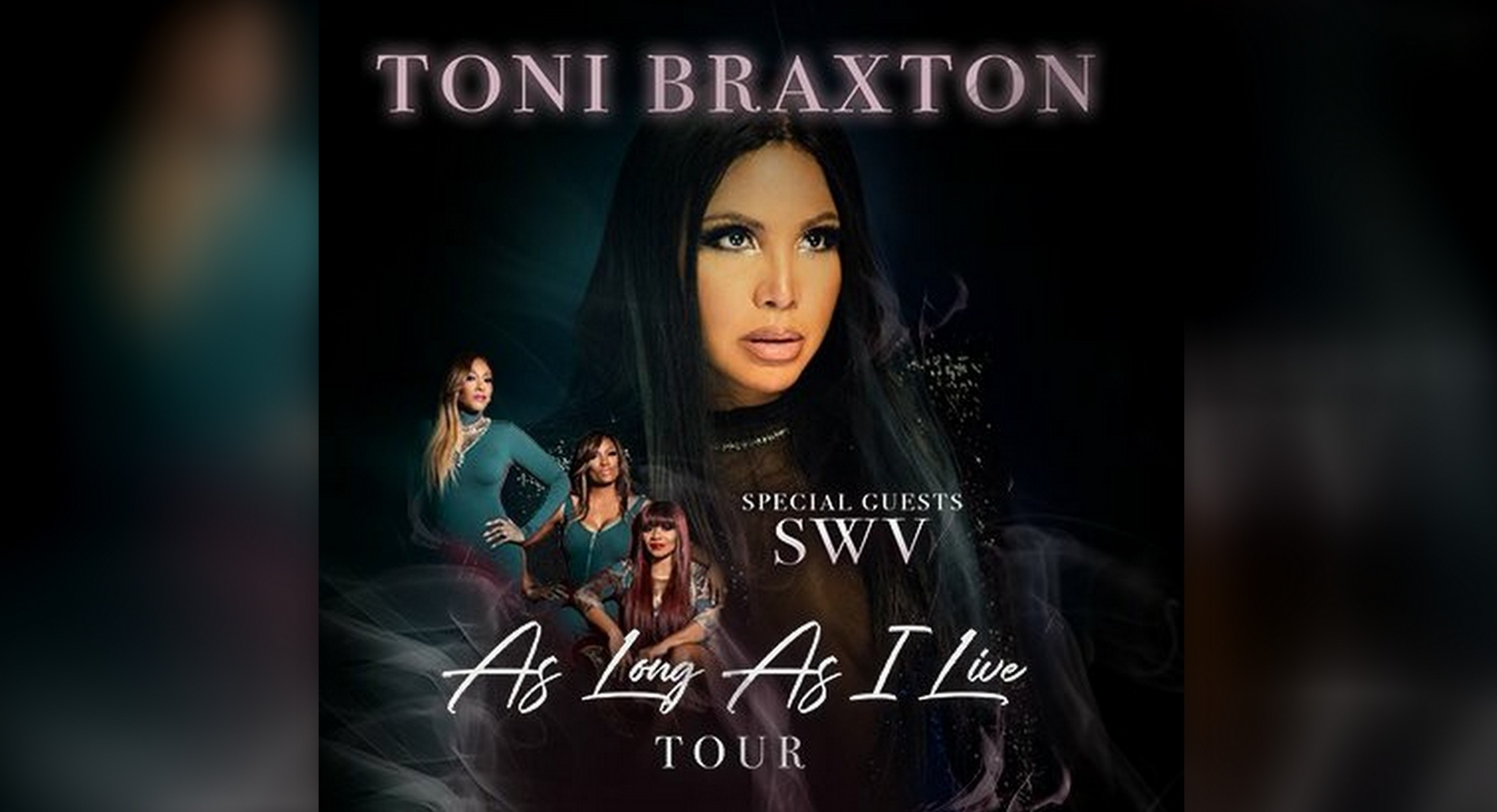 She's Coming! Toni Braxton Announces New Tour with SWV!