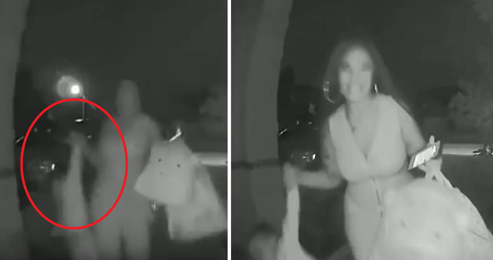 Woman Drops Toddler at Stranger's Doorstep. CCTV Helps in Her Arrest!