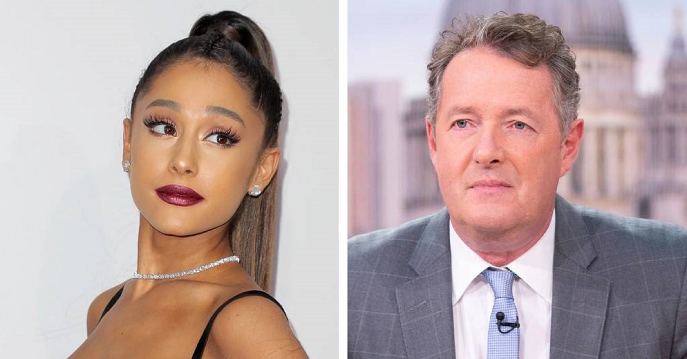 Ariana Grande Claps Back At Piers Morgan After He Accuses Her Of 'Selling Nudity'