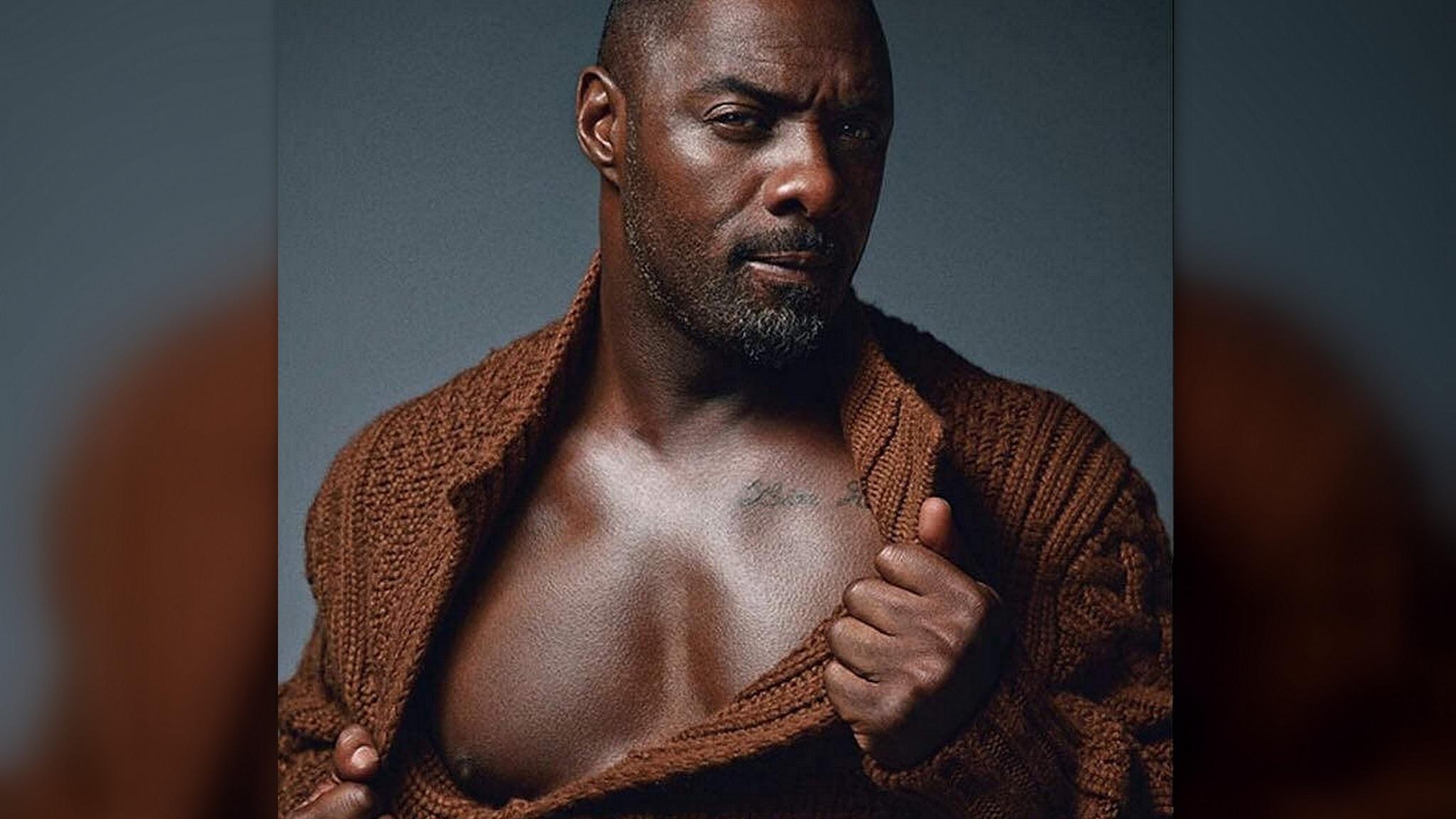 Idris Elba Named People Magazine's 'Sexiest Man Alive'!