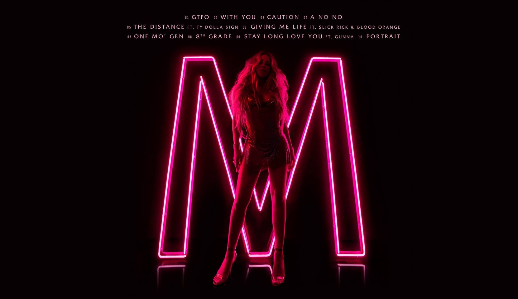 Revealed: The Complete Tracklist For Mariah Carey's New Album – 'Caution'