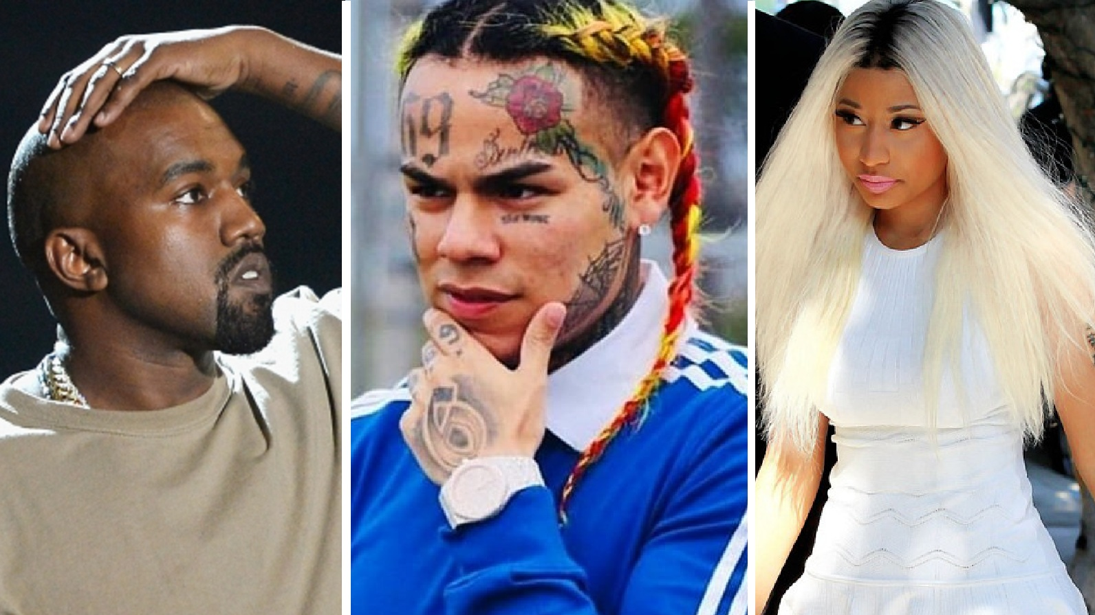 Gunshots Fired At Tekashi 6ix9ine, Kanye West, Nicki Minaj Music Video Shoot