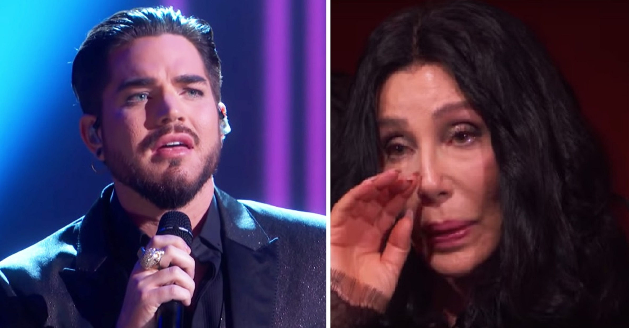 Watch: Adam Lambert Brings Cher To Tears With His Version Of 'Believe' At Kennedy Center Honors