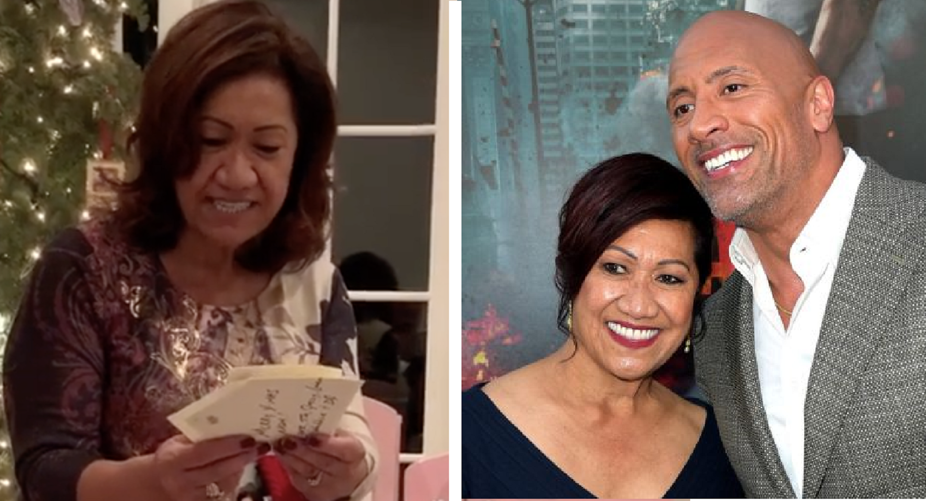 Awww! Dwayne Johnson Gifted His Mom A New House For Christmas, Moving Her To Tears
