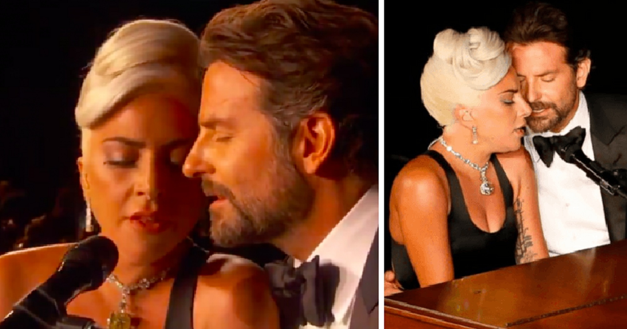 Watch: Lady Gaga and Bradley Cooper Give Passionate Performance at the Oscars