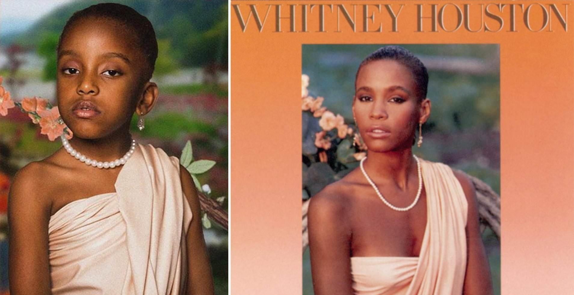 6 Year Old Recreated Iconic Female Album Covers For Black History Month
