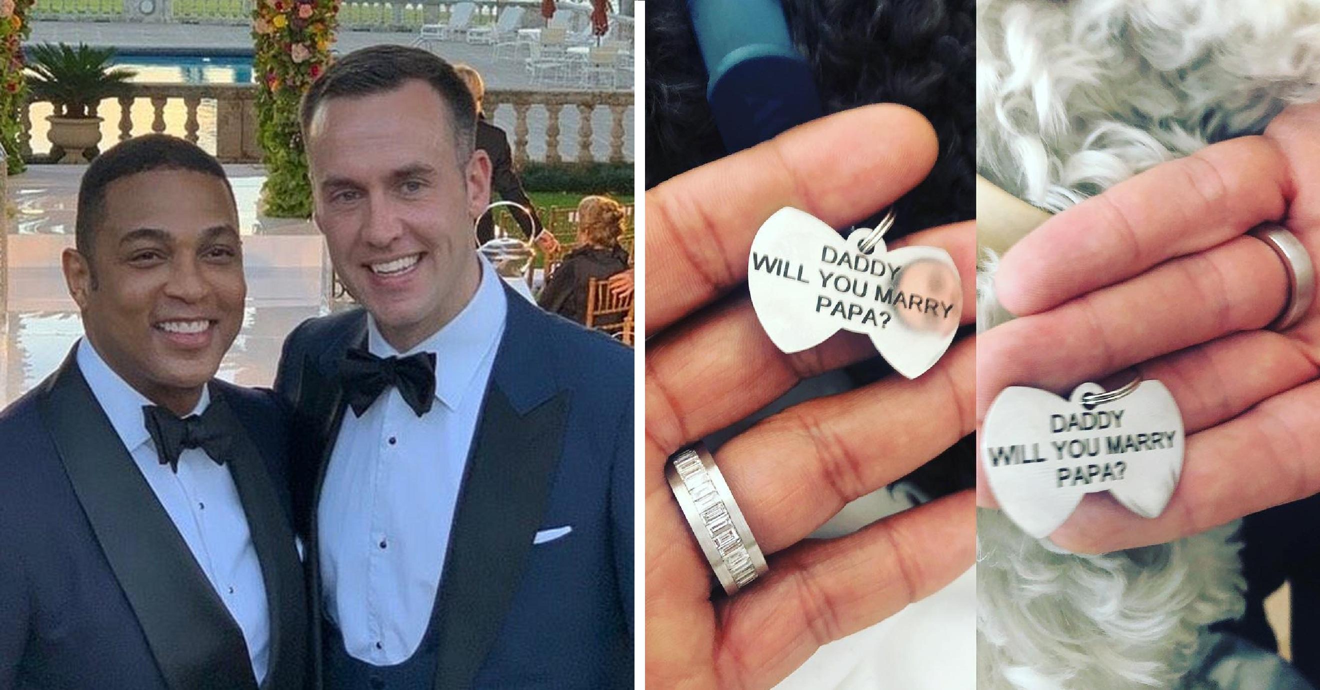 Don Lemon Engaged With Long-time Boyfriend, Tim Malone