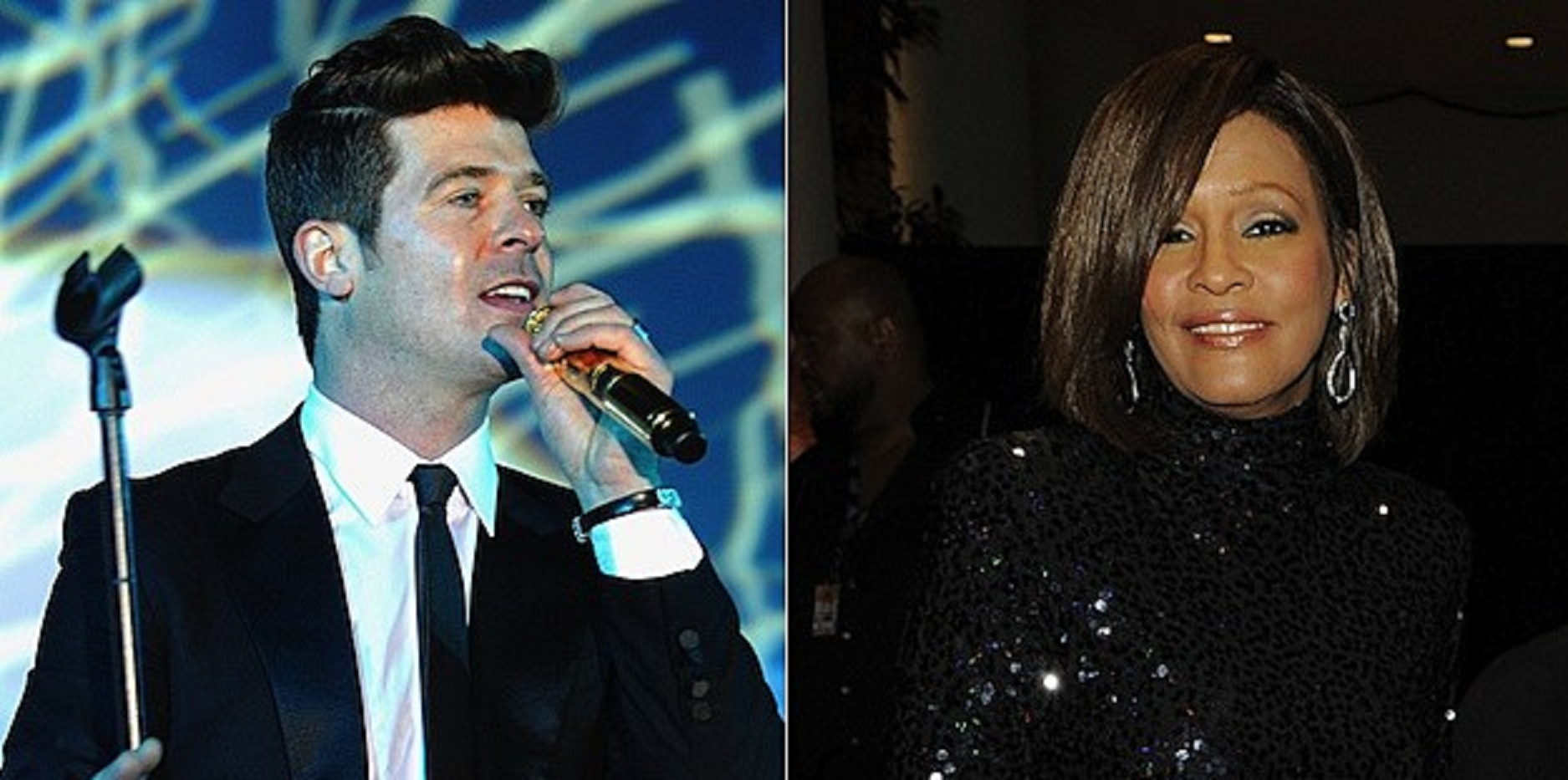 Unearthing This Stunning 'Exhale' Mashup Between Whitney Houston And Robin Thicke!
