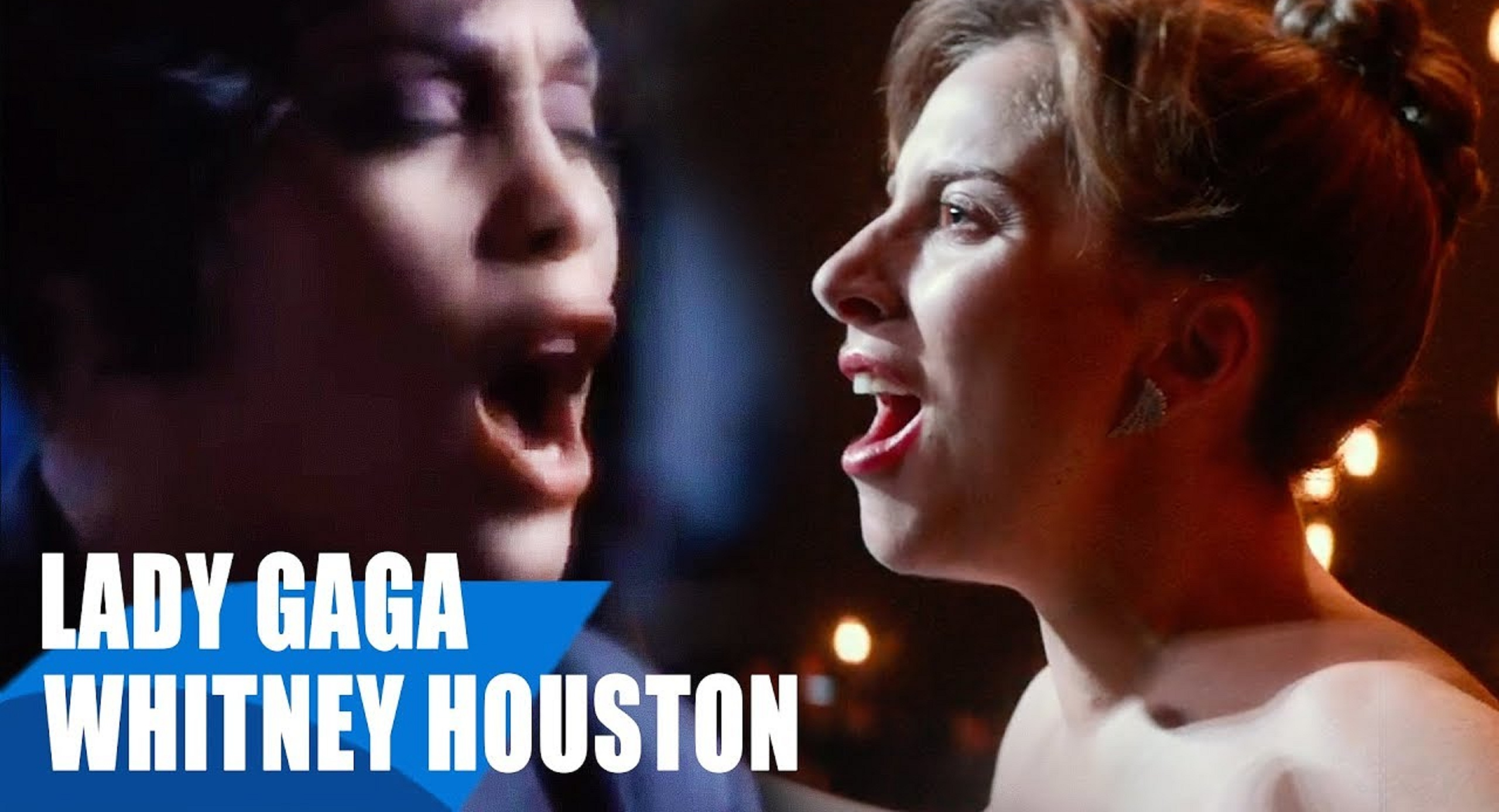 This Stunning Mash-Up Of Gaga's 'I'll Never Love Again' and Whitney 'I Will Always Love You' Will Give You Chills!
