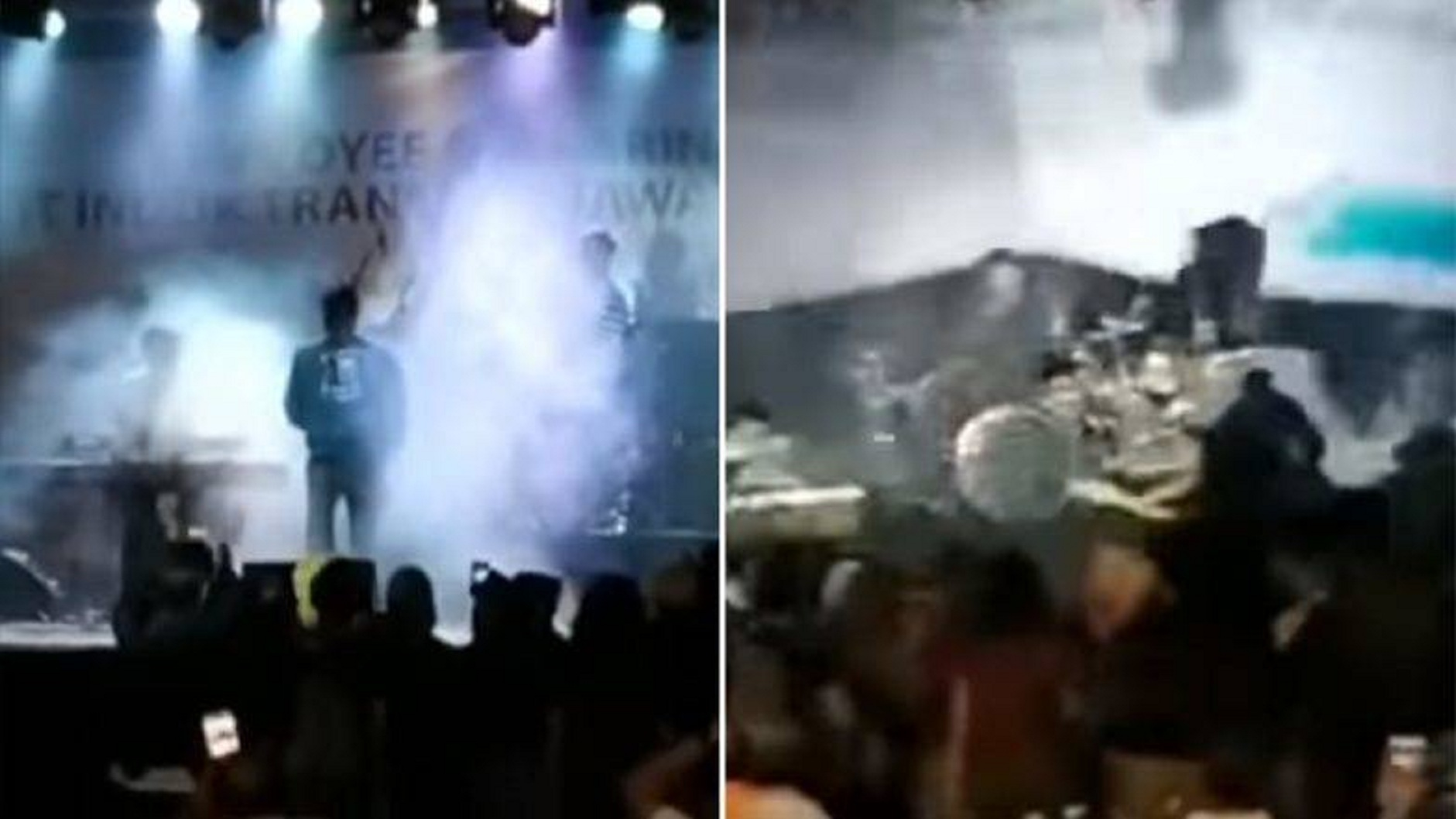 Watch: Rock Band Gets Swept Away By Indonesian Tsunami In Shocking Viral Video