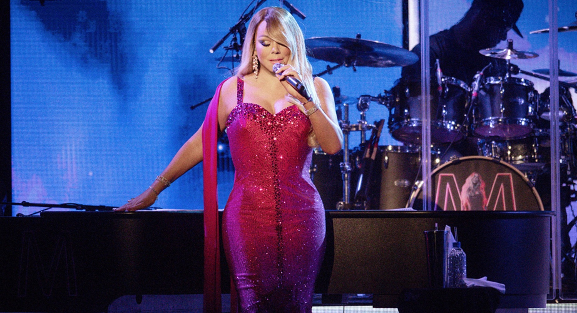 Watch: Mariah Carey Begins 'Caution Tour' With Performances Of 'Hero', 'GTFO', 'Glitter' and More!