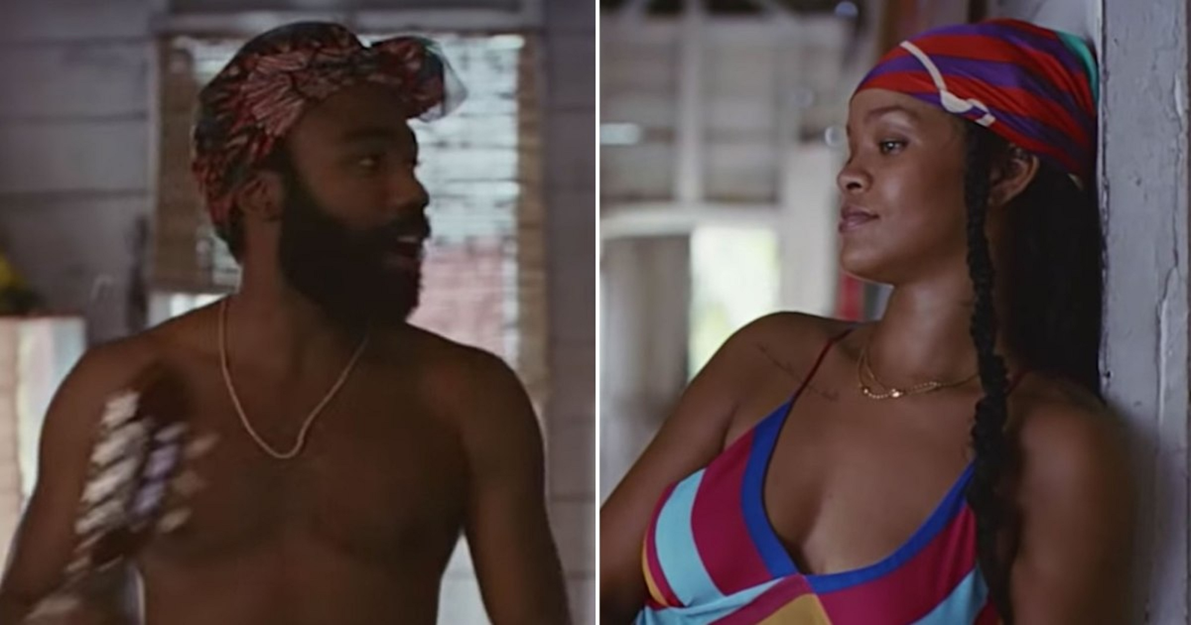 Watch: Rihanna and Childish Gambino's NEW Collaboration Out For Streaming On Amazon!
